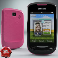 Samsung S3850 Corby II Pink