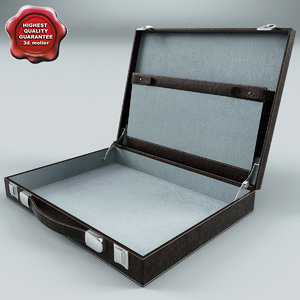 suitcase v5 3d max