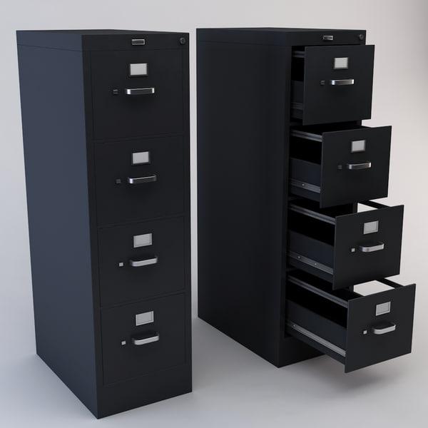 maya drawer file cabinet