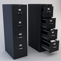 maya drawer file cabinet