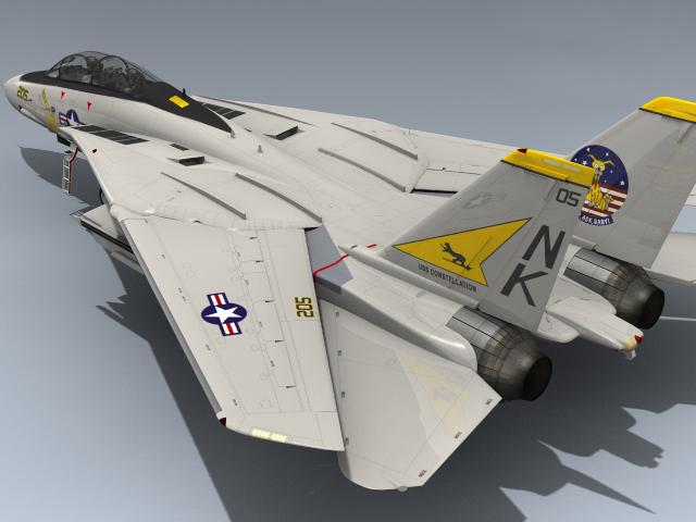 f-14a tomcat vf-21 3d max
