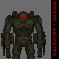 fps creator character 3d model