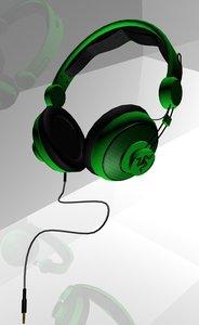 razer orca headphones 3d max