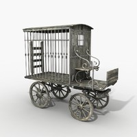 prisoner carriage 3d max