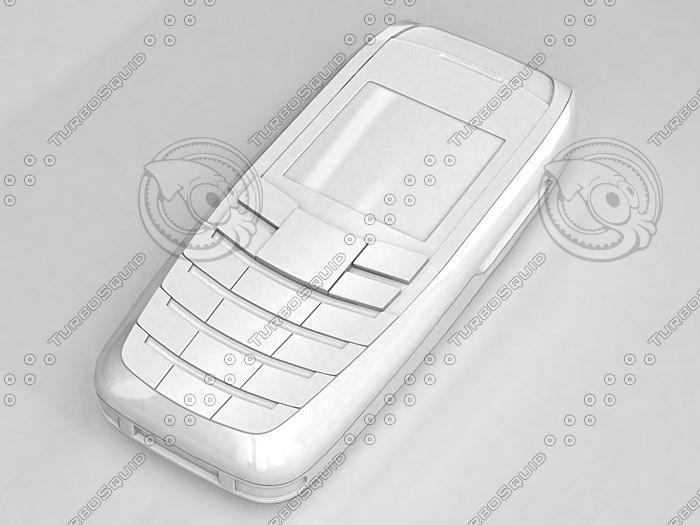 3d model phone simens