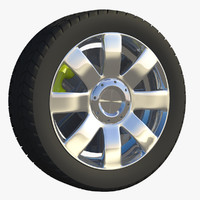 3d wheel touring rim