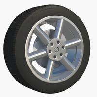 3ds max wheel rim