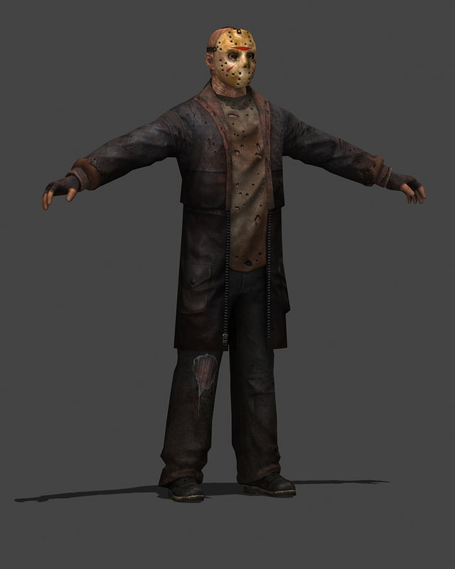 3ds max character jason voorhees