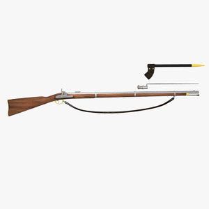 maya civil war musket