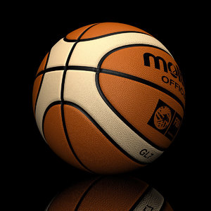 basketball ball 3d model
