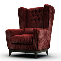 asnaghi armchair 3d max