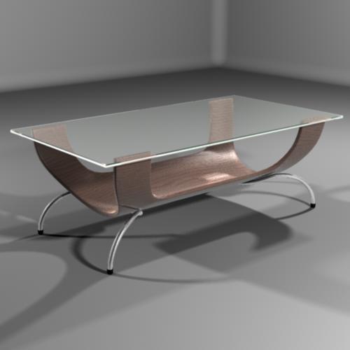 coffee table 3d ma