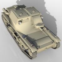 l3 33 tank 3d max