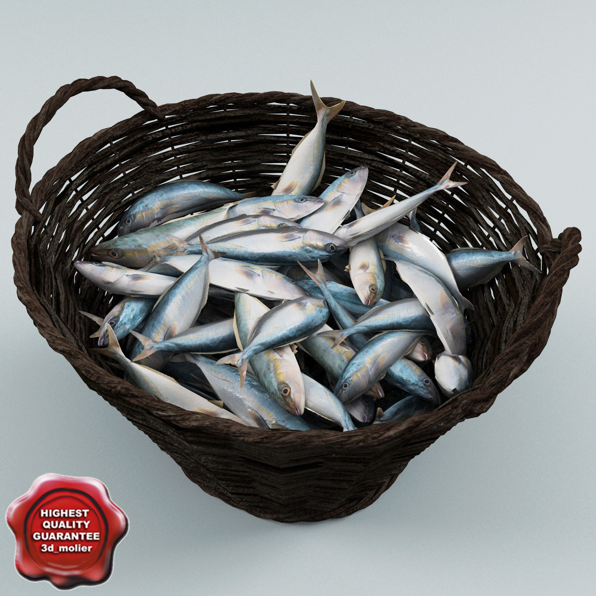 max fish wicker basket