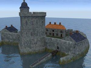 3d coastal fortress