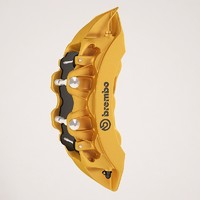brembo gold 3d max