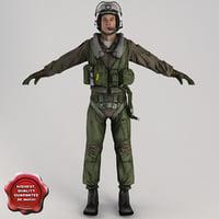 Military Pilot V3 Static