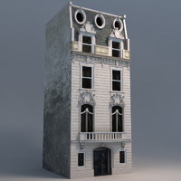 3d model of french buildings