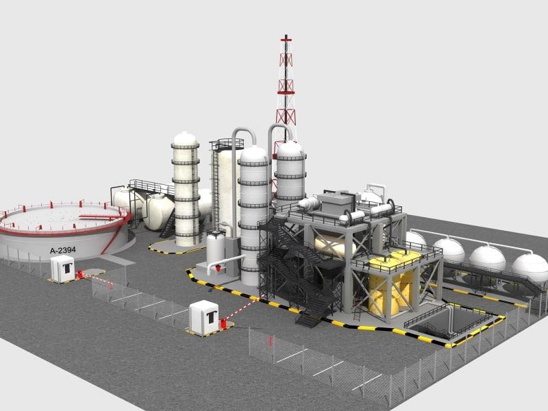 oil refinery max