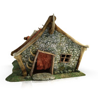Orc blacksmith fantasy building