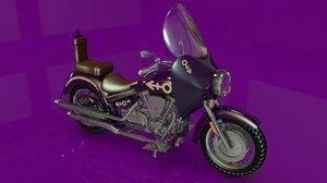 3d purple rain bike prince