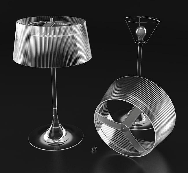 maya lamp bulb