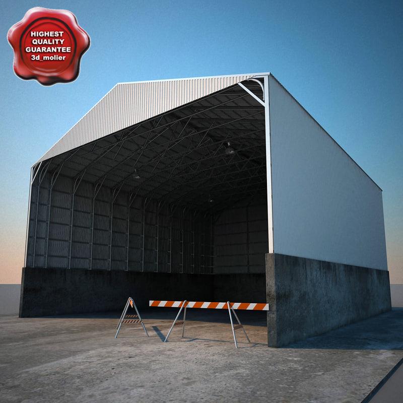 warehouse v3 3d model