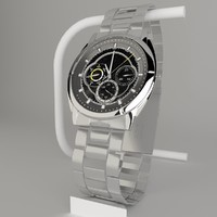 casio edifice watch 3d model