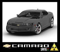 chevrolet camaro 3ds