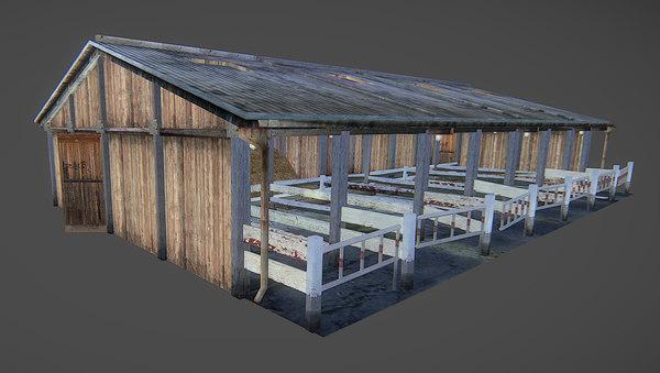farm 3d model