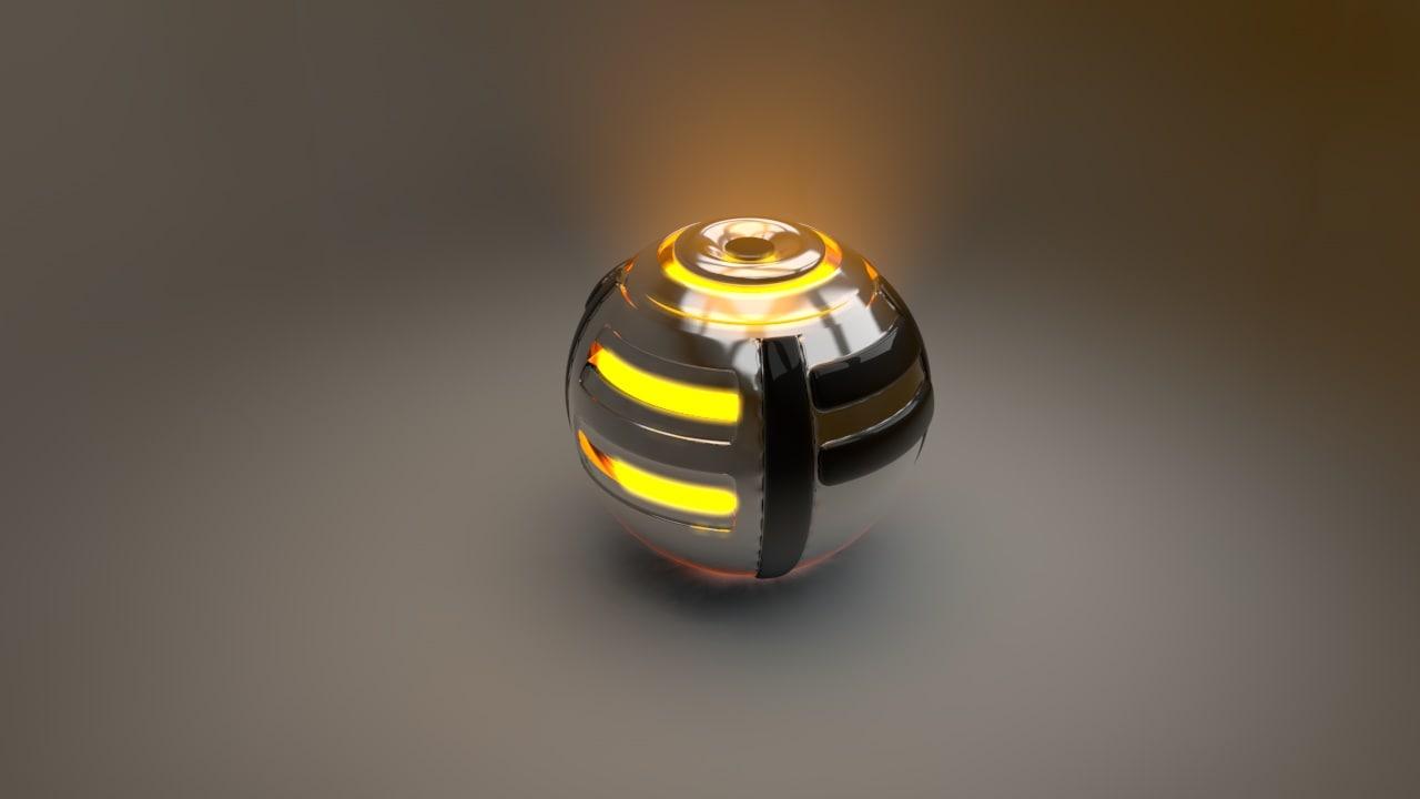 3d model bumble ball