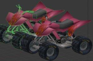 quad s colors obj