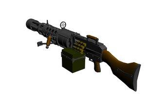 max machine gun lead