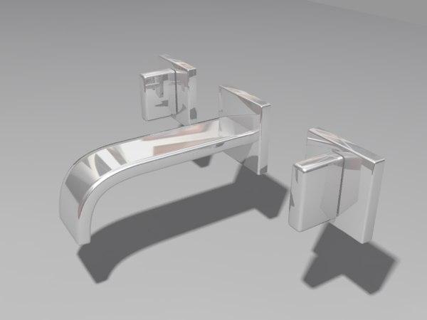 taps chrome 3d model