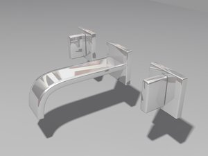 taps chrome 3d model