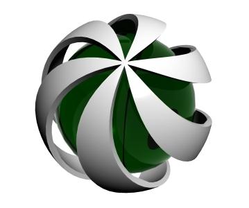 hypnotic sphere 3d 3ds