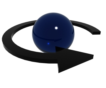 arrow sphere 3d max