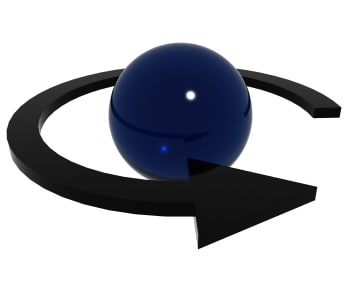 3ds max arrow sphere