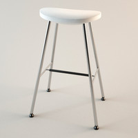 ikea bar stool 3d model