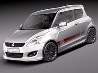 3ds max suzuki x-ite 2011 swift