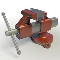3ds max table vise