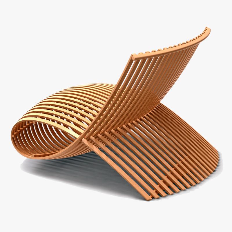 3d marc newson wooden model