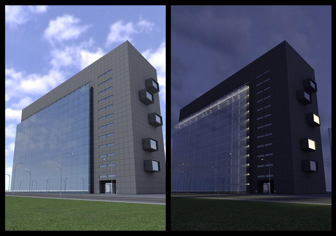 3d model new skyscraper 21 day