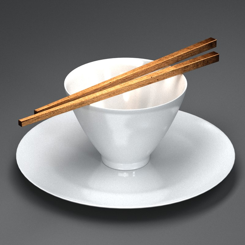 3ds max rice cup