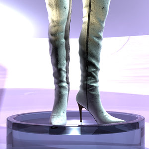 boot sexy 3d model