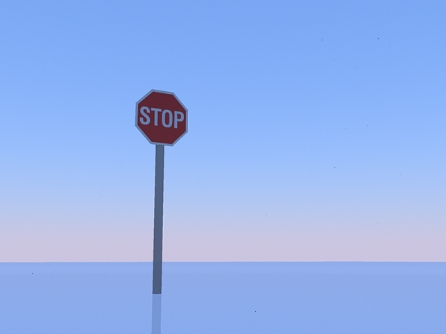 stop sign fbx free