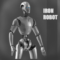 iron robot max