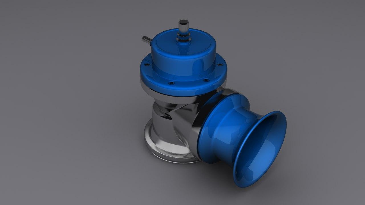 3d blow valve