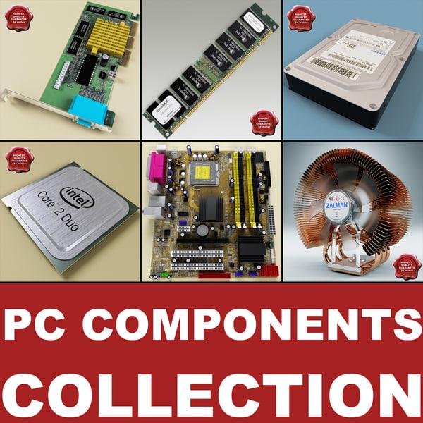 3d computer components v3