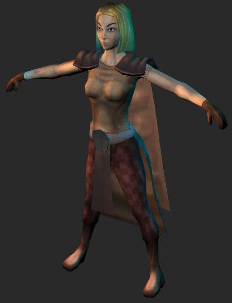 female elf mage x
